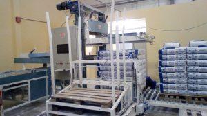paletiezer machine for packing 20 ÷ 50kg